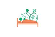 手厚い人員での入院サポート